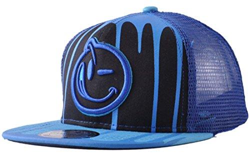 Belsen Kind habgierig Hip-Hop Cap Baseball Kappe Hut Truckers Hat (blau)