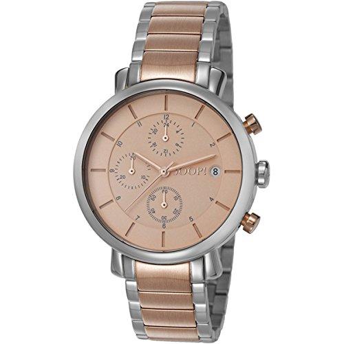 Joop! Damen-Armbanduhr Emma Chronograph Quarz Edelstahl JP101772006