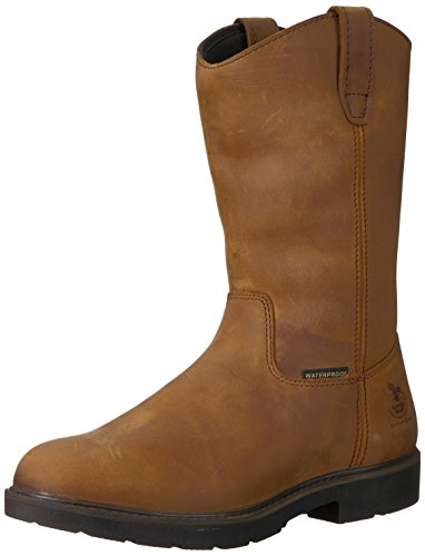 Georgia Unisex-Adult GB00085 Mid Calf Boot, Brown, 10.5 W US