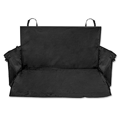 PRETEX Universal-Kofferraumschutz Hund mit Seitenschutz, schwarz - Auto-Schondecke, Kofferraumdecke
