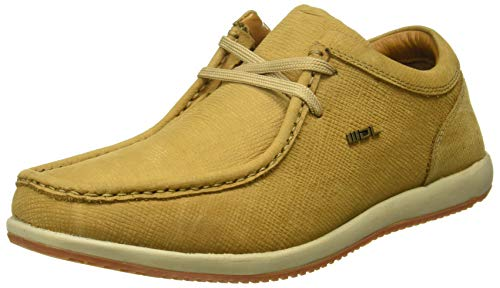Woodland Men's Camel Leather Sneakers-7 UK/India (41 EU) (GC 1252113CMA)