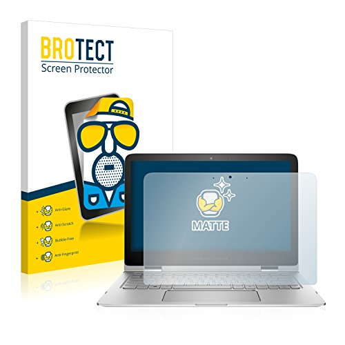 BROTECT Entspiegelungs-Schutzfolie kompatibel mit HP Spectre x360 13-4151ng Bildschirmschutz-Folie Matt, Anti-Reflex, Anti-Fingerprint