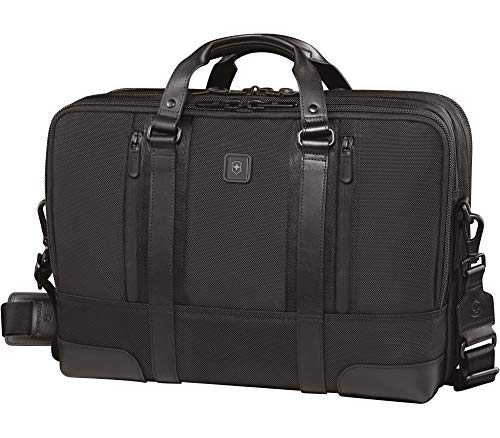 Victorinox Swiss Army Briefcases, Black, 17 IN