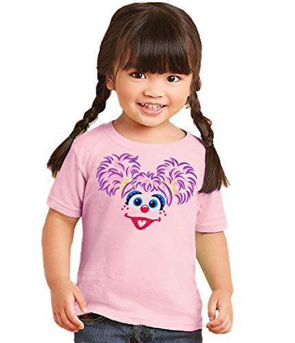 Sesame Street Abby Cadabby Toddler T-Shirt-2T Pink