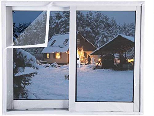 Lona impermeable de multiusos Heavy Duty lonas, lona impermeable transparente con anillos de metal for tejado, acampar, al aire libre (color: claro, Tamaño: 100x100cm), Tamaño: 150x180cm, Color: Claro