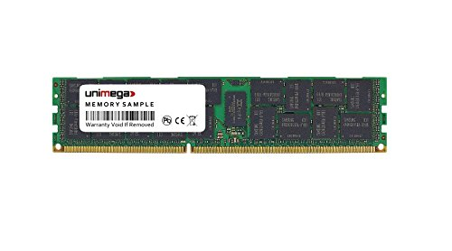 unimega 16GB (1x 16GB) für Dell PowerEdge C2100 DDR3 1333MHz PC3-10600R RDIMM 2Rx4 (Hinweis: Memory Funktioniert Nicht in Normalem PC)