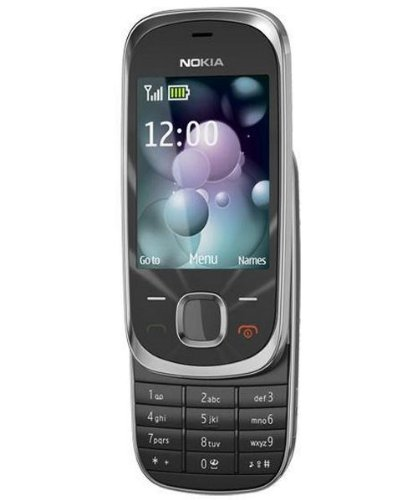 Nokia 7230 Orange Libero Control Slider, Color Graphite