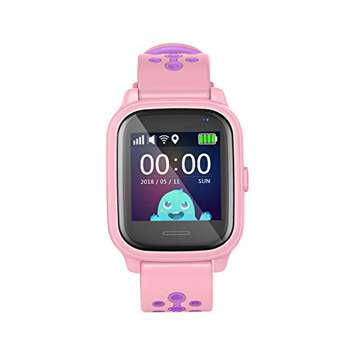 Leotec Smartwatch Allo Kids GPS Rosa