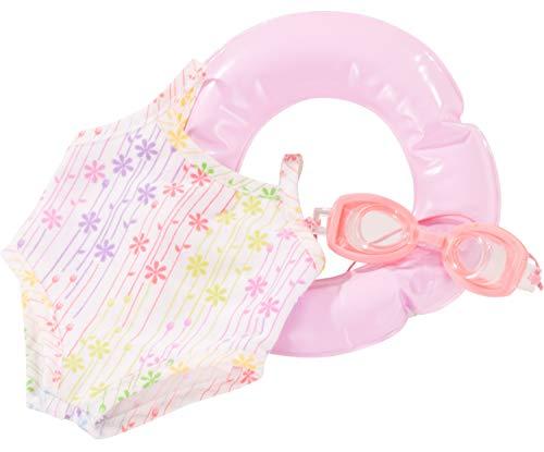 Götz 3403293 Summer Must Have Zubehörset für Babypuppen 30 - 33 cm - Gr. S - 3-teiliges Bekleidungs- und Zubehörset