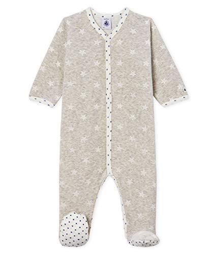 Petit Bateau Dors Bien Y_5000901 Pijama, Multicolor (Beluga/Marshmallow 01), 86 (Talla del Fabricante: 18M/81centimeters) para Bebés