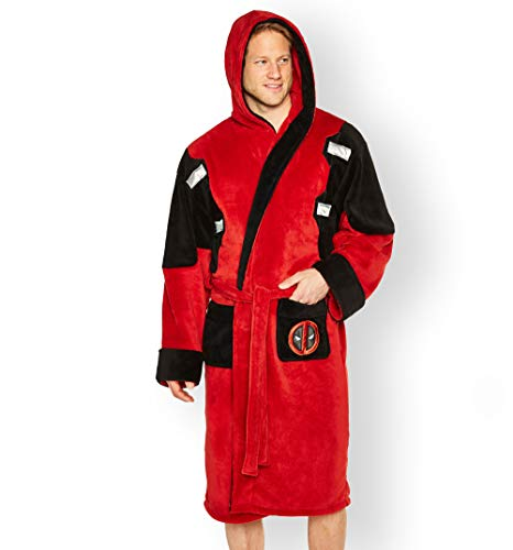 Mens Deadpool Dressing Gown