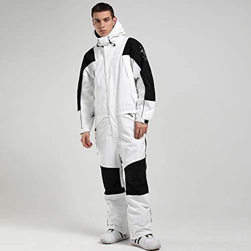 Traje De Esquí, Hombre para Mujer Snowboard Winter Snowsuit, Una Sola Pieza, Impermeable...