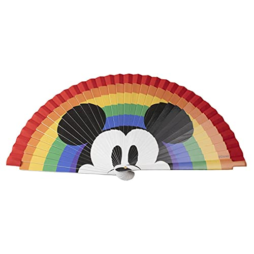 CERDÁ LIFE'S LITTLE MOMENTS 2600001351 Abanico de Madera Pintado Colección Disney Pride,...