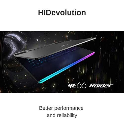 Compare HIDevolution MSI GE66 Raider 10SFS (MS-GE66048-HID2) vs other laptops
