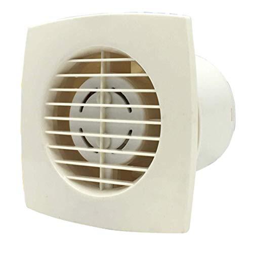 Ventilador de ventilación doméstico Extintor De 4 Pulgadas, De Gran Alcance De Escape Ultrafina Extractor De Baño Ventilador/Partición 100mm Ventana Pared Fan LITING