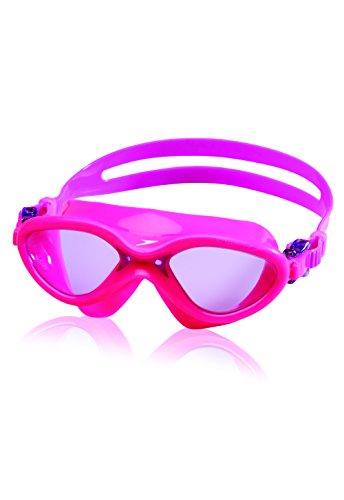 Speedo Kids' Hydrospex Classic Swim Mask, Reddish Pink, One Size