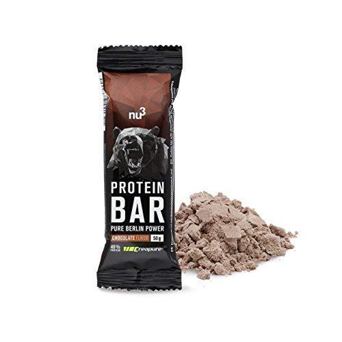 nu3 Barrita de Proteínas - 12 x 50g – Barras con proteína (20g)...