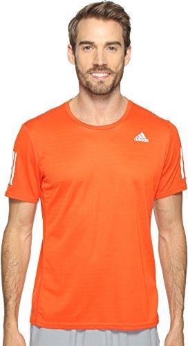 adidas Hombres Camiseta de Manga Corta de Running de Respues