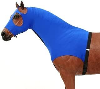 Tough-1 100% Spandex Mane Stay Hood Turquoise Large