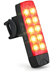 BYBLIGHT テールライト usb充電式 自転車用 リアライト 防水 セーフティライト 点灯 点滅 6つのモード 高輝度 120ルーメン クリップ式 夜間走行の視認性をアピール 簡単装着 テールランプ 赤色