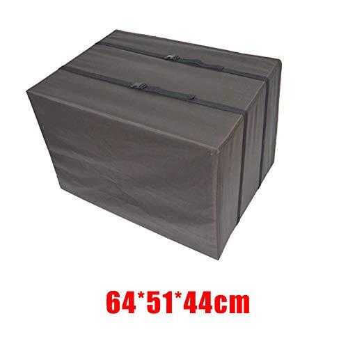 ZJF Forniture Essenziali per Famiglie Coperchio del condizionatore d'Aria Coperta Quadrata all'aperto Protezione Antipolvere Impermeabile (Color : 64 * 51 * 44cm)