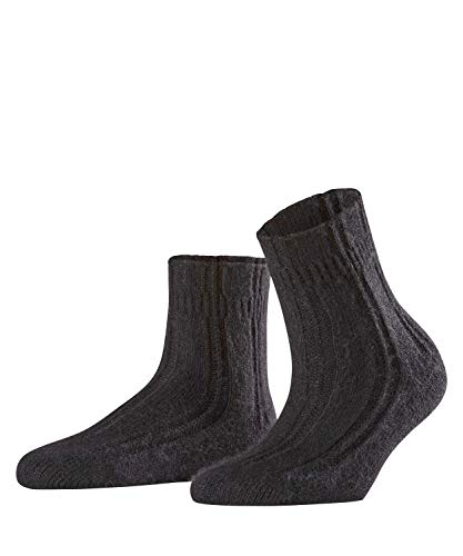 FALKE Damen Socken Bedsock - Angoramischung, 1 Paar, Schwarz (Black 3009), Größe: 39-42