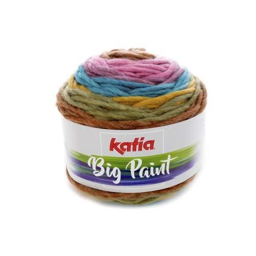 Katia Big Paint – Color: Vivos Niña (208) – 100 g/aprox 100 m lana