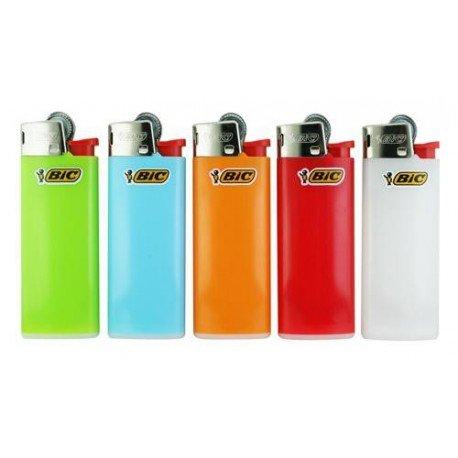 Bic Mini 10 aanstekers op kleur gesorteerd