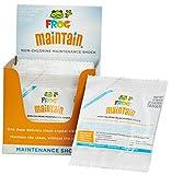 SPA FROG Maintain Non-Chlorine Maintenance Shock Single Use Packets 12-Pack with Bonus Hot Tub Water Balancing Guide