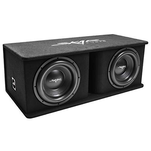 "Skar Audio Dual 12"" 2400W Loaded SDR Series Vented Subwoofer Enclosure | SDR-2X12D4"
