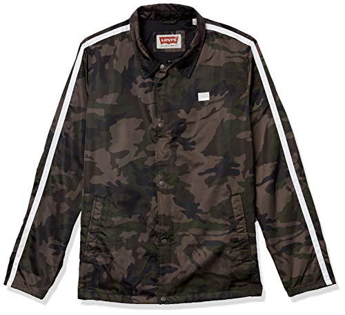Levi's Herren Retro Coaches Jacket Universitätsjacke, Camouflage, Mittel