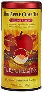 The Republic of Tea, Hot Apple Cider Tea, 36-count [Pack of 2]