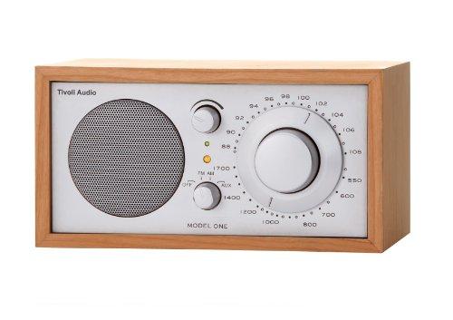 Tivoli Model One UKW-/MW-Radio in Kirsche/Silber