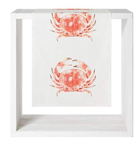 Proflax Tischläufer Crab | 446 Coralle - 50 x 150 cm