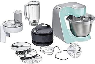 Bosch MUM58020 Kitchen Machine MUM5 1000 W Mint Turquoise, Silver , 2725447639535