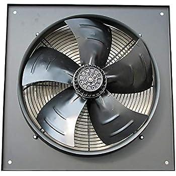 Ventilador extractor industrial comercial de 500 mm, resistente ...