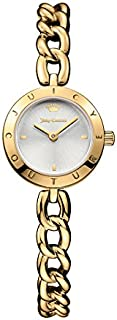 Juicy Couture Women's 1901512 Pacifica Analog Display Quartz Gold Watch