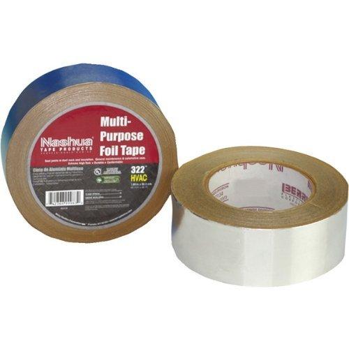 "Lot of 2  Polyken 367-17 Foil Tape 3/"" x 100/' Foilmastic for Flexible Duct"