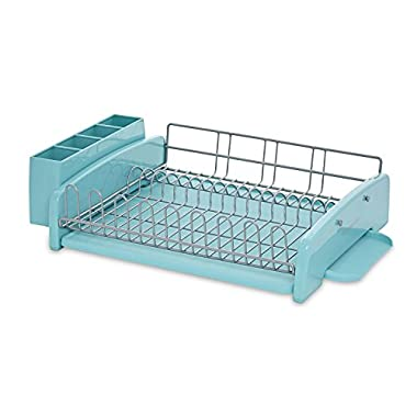 KitchenAid 3-Piece Dish Rack, Aqua Sky
