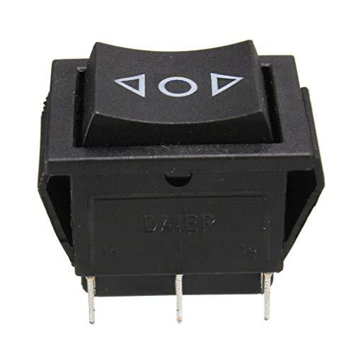 Nsdsb AC 250V / 10A 125V / 15A Interruptor Basculante Momentáneo De La Ventana Eléctrica De 6 Pines Dpdt 12 V