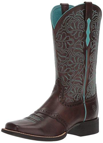 Ariat Women's Round up Remuda Western Cowboy Boot, Naturally Dark Brown, 8.5 B US