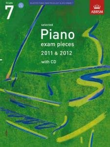 Sel Piano Exam Pieces 11-12 G7 Bk&Cd