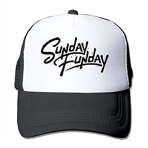 Zcfhike Unisex-Adult Sunday Funday Béisbol Béisbol Gorra de béisbol Plana Sombrero Unisex20