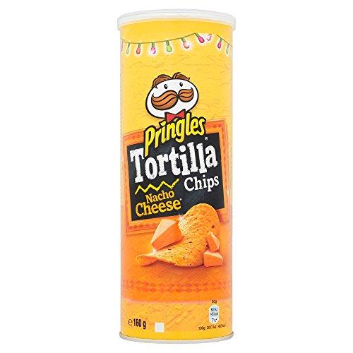 プリングルズ(Pringles) トルティーヤチップス ナチョチーズ160g