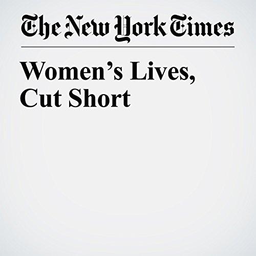 Women's Lives, Cut Short copertina