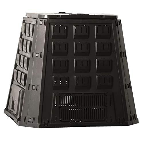 Nature Compostiera Da Giardino Nera Contenitore Per Compost 400 L 6071480