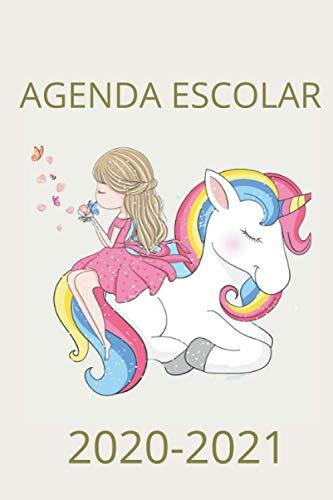Agenda Escolar 2020 2021 Unicornio: Planificador 2020 2021 Primaria - Colegio - Secundaria