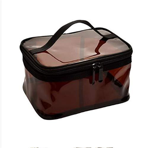 Bolsa de maquillaje transparente bolsa de maquillaje impermeable bolsa de maquillaje de...