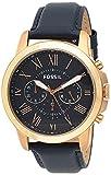 Orologio uomo FOSSIL Grant, cassa 44 mm, movimento cronografo al...