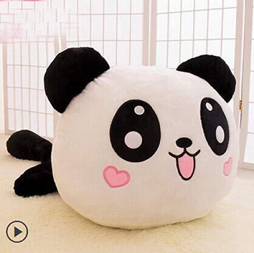 YRCBQJBE Panda Doll - Peluche de mapache para bebé (color: corazón encantador, tamaño: 80 cm)